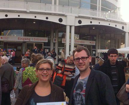 Pinipa auf der Frankfurter Buchmesse