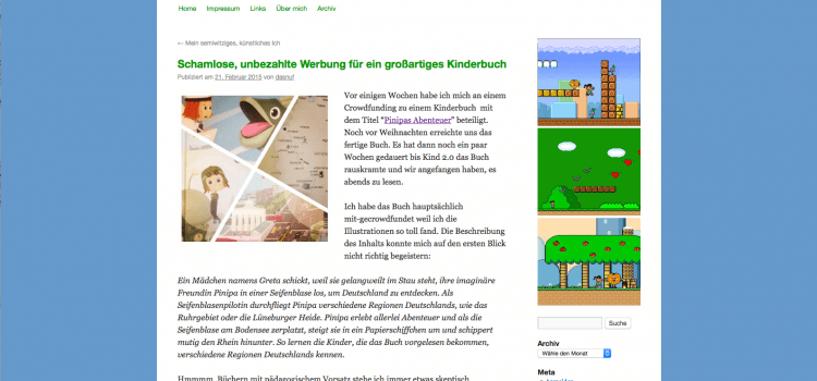 Wunderbare Rezension von dasnuf.de