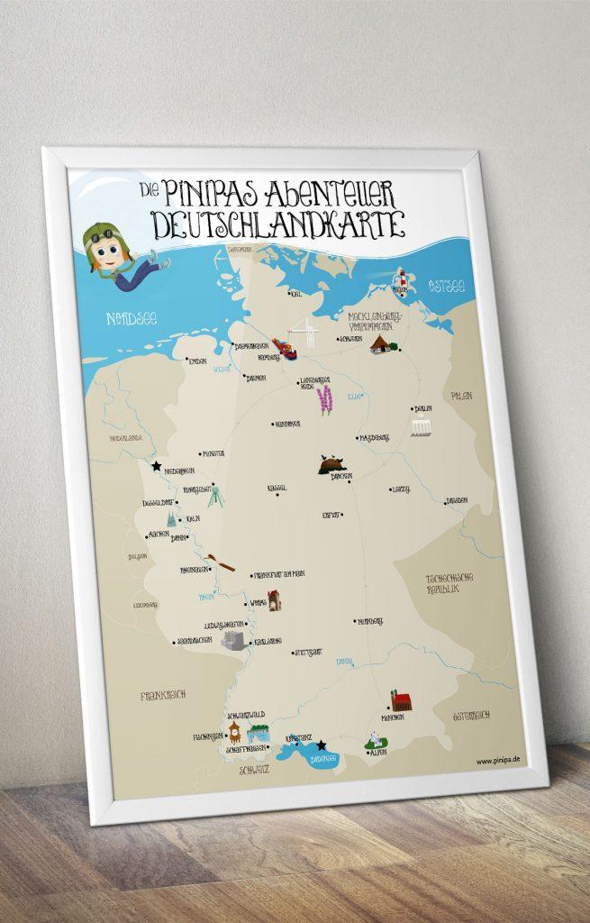 pinipas-abenteuer-deutschlandkarte-poster