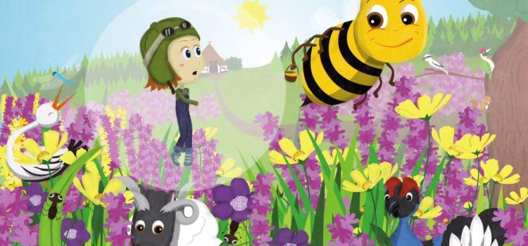 Pinipa auf YouTube: Friedliche Blumen und hungrige Vögel