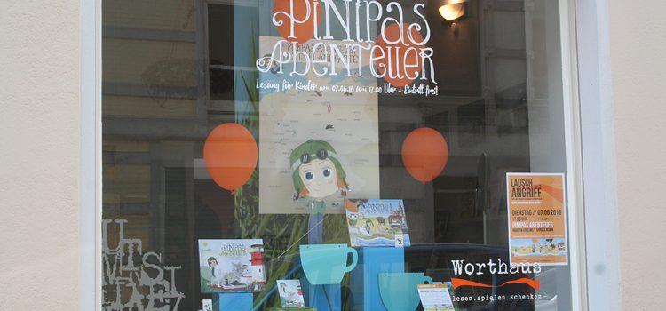 Wir lesen vor aus Pinipas Abenteuer 1 & 2