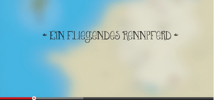 Pinipas Abenteuer auf YouTube: Ein fliegendes Rennpferd
