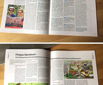 """Pinipa im """"kinderleicht"""" Fachmagazin für Kitas"""