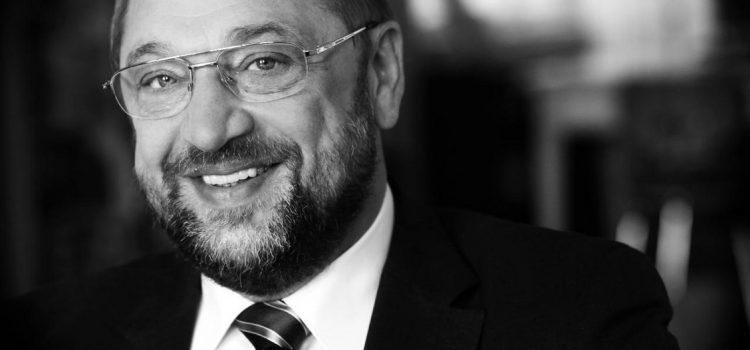 Pinipa bei Martin Schulz im Europaparlament
